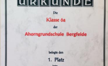 Erfolgreiche Teilnahme am Sechstklässler-Cup Wissensquiz 2019_1